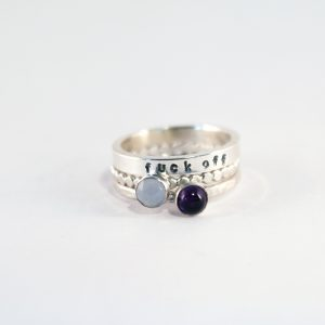 Customised stacking rings