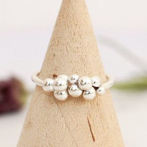 Recycled Eco Silver rings