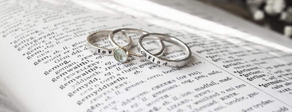 cariad love rings welsh dictionary